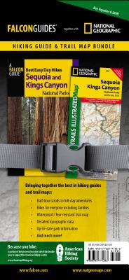 Best Easy Day Hiking Guide and Trail Map Bundle: Sequoia and Kings Canyon National Park - Scheidt, Laurel