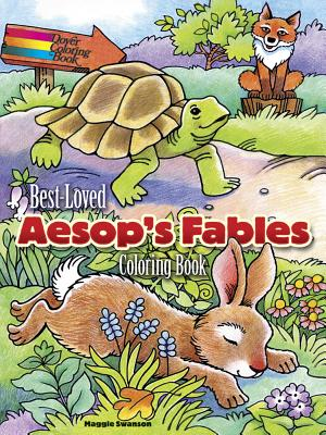Best-Loved Aesop's Fables Coloring Book - Swanson, Maggie