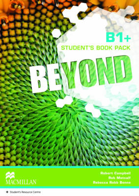 Beyond B1+ Student Book pack - Campbell, Robert, and Metcalf, Rob, and Benne, Rebecca