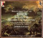 Biber: Battalia ? 10; Requiem ? 15 in Concerto