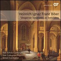 Biber: Vesperae longiores ac breviores - Derek Chester (tenor); Douglas Williams (bass baritone); Ian Howell (counter tenor); Mellissa Hughes (soprano);...