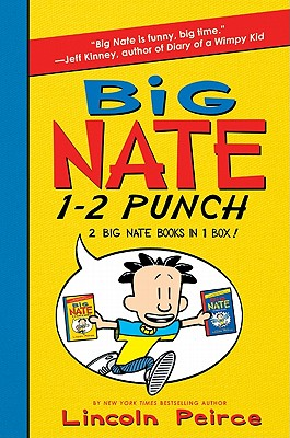 Big Nate 1-2 Punch: 2 Big Nate Books in 1 Box!: Includes Big Nate and Big Nate Strikes Again - Peirce, Lincoln