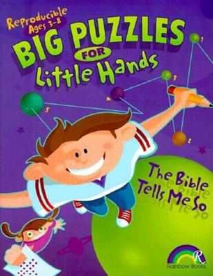 Big Puzzles for Little Hands: The Bible Tells Me So - Williams, Carla R
