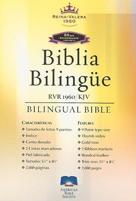 Bilingual Bible-PR-Rvr 1960/KJV - American Bible Society (Creator)