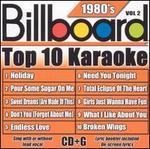 Billboard Top 10 Karaoke: 1980's, Vol. 2