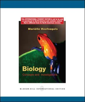 Biology: Concepts and Investigations - Hoefnagels, Marielle, and Lewis, Ricki, and Gaffin, Douglas