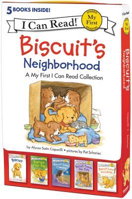Biscuit's Neighborhood: 5 Fun-Filled Stories in 1 Box! - Capucilli, Alyssa Satin