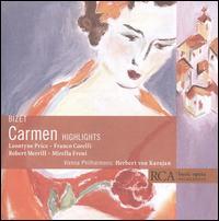 Bizet: Carmen [Highlights] - Bernard Demigny (vocals); Franco Corelli (vocals); Frank Schooten (vocals); Geneviève Macaux (vocals);...