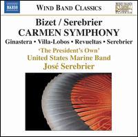 Bizet/Serebrier: Carmen Symphony - Christopher McFarlane (bassoon); Gail Gillispie (flute); Leslye Barrett (oboe); Lisa Kadala (clarinet);...