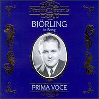 Björling In Song - Jussi Björling (tenor)