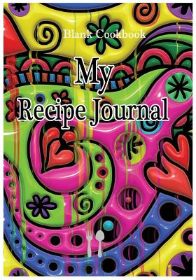 Blank Cookbook: My Recipe Journal: 7x10 with 100 pages blank recipe paper for jotting down your recipes - Gomella