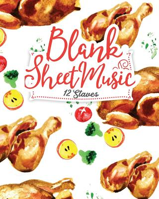 Blank Sheet Music - 12 Staves: Blank Music Journal / Blank Music Composition Book / Blank Manuscript Book - Publishing, Moito