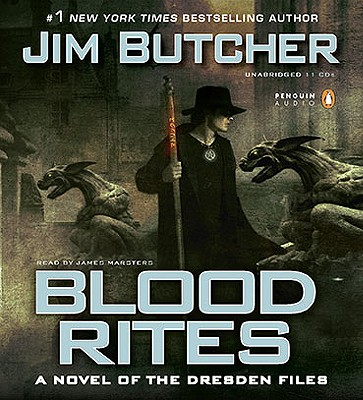 Blood Rites - Butcher, Jim, and Marsters, James (Read by)