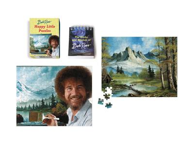 Bob Ross: Happy Little Puzzles - Ross, Bob