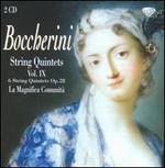 Boccherini: String Quintets, Vol. 9