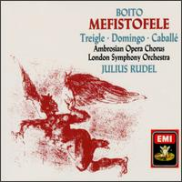 Boito: Mefistofele - Delia Wallis (mezzo-soprano); Heather Begg (mezzo-soprano); Josella Ligi (soprano); Leslie Fyson (vocals);...