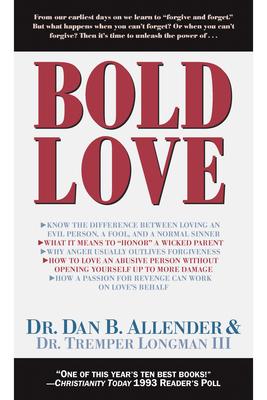 Bold Love - Allender, Dan