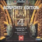 Bonporti: Inventioni, Op. 10; Sonate Op. 7, Vol. 4
