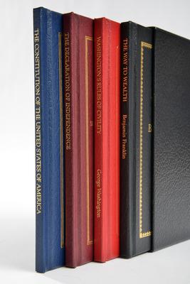 Books of American Wisdom Boxed Set - Washington, George, and Franklin, Benjamin, and Jefferson, Thomas