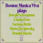 Boston Musica Viva Plays Joseph Schwantner, Charles Ives, Luciano Berio, Mario Davidovsky, Donald Harris