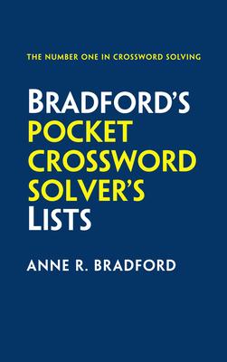 Bradford's Pocket Crossword Solver's Lists - Bradford, Anne R