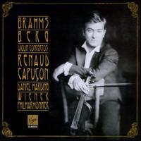 Brahms, Berg: Violin Concertos - Renaud Capuçon (violin); Wiener Philharmoniker; Daniel Harding (conductor)