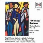 Brahms: Clarinet Quintet, Op.115; Piano Quintet, Op.34