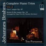 Brahms: Complete Piano Trios, Vol. 2