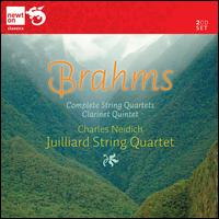 Brahms: Complete String Quartets; Clarinet Quintet - Charles Neidich (clarinet); Juilliard String Quartet