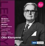Brahms: Ein deutsches Requiem; Mozart: Serenata notturna