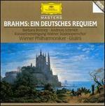 Brahms: Ein deutsches Requiem - Andreas Schmidt (baritone); Barbara Bonney (soprano); Rudolf Scholz (organ); Vienna State Opera Chorus Konzertvereinigung (choir, chorus); Vienna State Opera Concert Chorus (choir, chorus); Wiener Philharmoniker; Carlo Maria Giulini (conductor)