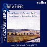 Brahms, Herzogenberg: String Quartets, Vol. 2