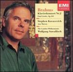 Brahms: Klavierkonzert Nr. 2; Fünf Lieder, Op. 105