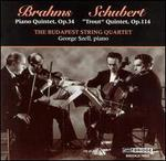 "Brahms: Piano Quintet, Op. 34; Schubert: ""Trout"" Quintet, Op. 114"