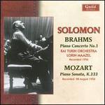 Brahms: Pianos Concerto No. 1; Mozart: Piano Sonata