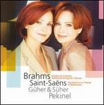 Brahms: Sonata for 2 Pianos; Waltzes; Hungarian Dances; Saint-Saëns: Variations on a Theme of Beethoven