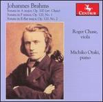 Brahms: Sonata in A major, Op. 100; Sonata in F minor, Op. 120/1; Sonata in E-flat major, Op. 120/2