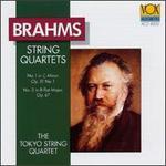 Brahms: String Quartets Nos. 1 & 3, Opp. 51/1 & 67