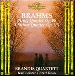 Brahms: String Quintet, Op. 88; Clarinet Quintet, Op. 115