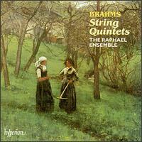 Brahms: String Quintets - Andrea Hess (cello); Anthony Marwood (violin); Elizabeth Wexler (violin); James Boyd (viola); Raphael Ensemble;...