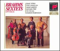 Brahms: String Sextets, Opp. 18 & 36; Theme and Variations for Piano - Cho-Liang Lin (violin); Emanuel Ax (piano); Isaac Stern (violin); Jaime Laredo (viola); Michael Tree (viola);...