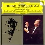 Brahms: Symphonie No. 1; Gesang der Parzen - Berlin Radio Symphony Chorus (choir, chorus); Berlin Philharmonic Orchestra; Claudio Abbado (conductor)