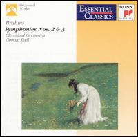 Brahms: Symphonies Nos. 2 & 3 - Cleveland Orchestra; George Szell (conductor)