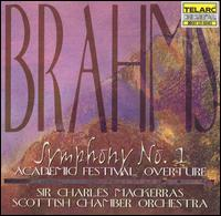 Brahms: Symphony No. 1; Academic Festival Overture - Scottish Chamber Orchestra; Charles Mackerras (conductor)