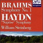 """Brahms: Symphony No. 1; Haydn: """"Surprise"""" Symphony"""