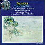 Brahms: Symphony No. 1; Violin Sonata No. 3