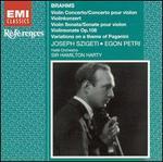 Brahms: Violin Concerto; Violin Sonata, Op. 108; Variations on a Theme of Paganini