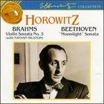 "Brahms: Violin Sonata No. 3; Beethoven: ""Moonlight"" Sonata"