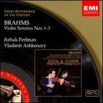 Brahms: Violin Sonatas Nos. 1-3 - Itzhak Perlman (violin); Vladimir Ashkenazy (piano)