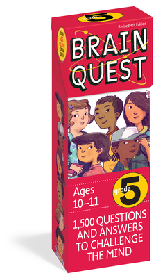 Brain Quest Grade 5, Revised 4th Edition: 1,500 Questions and Answers to Challenge the Mind - Feder, Chris Welles, and Bishay, Susan